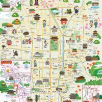 京都観光マップ